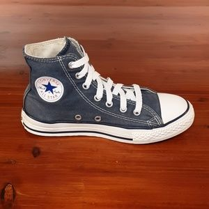 Converse All Star Sneakers Denim Material. Size 3